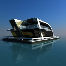 floating house abu dhabi temur mimarlik
