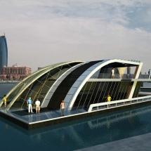 aqua lounge temur mimarlik floating house