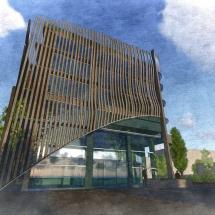 bor iş merkezi business centre mimari architecture