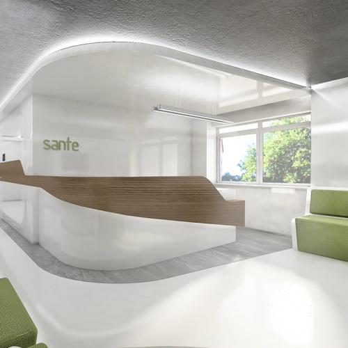 sante tıp merkezi medical architecture mimari içmimari interior design